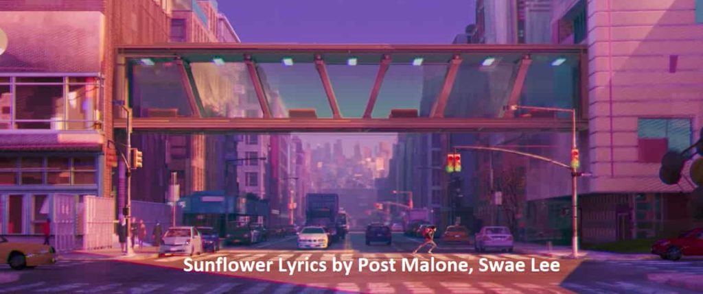 Sunflower-Lyrics-PostMalone-SwaeLee
