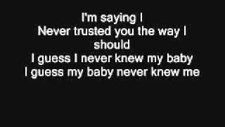 I GUESS I NEVER KNEW MY BABY Lyrics - TATA YOUNG